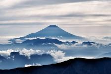 Mt Fuji clouds