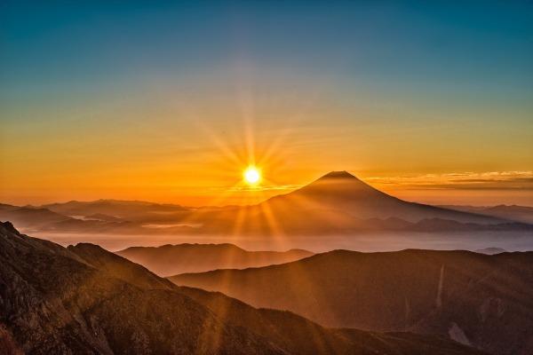 Mt Fuji sunset
